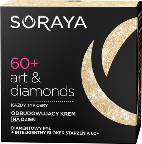 Soraya - ART & DIAMONDS Restoring Day Face Cream 60+, 50ml