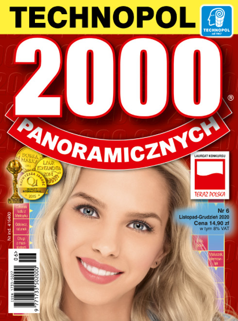 2000 Panoramicznych - 6 month subscription (Price Includes Shipping)