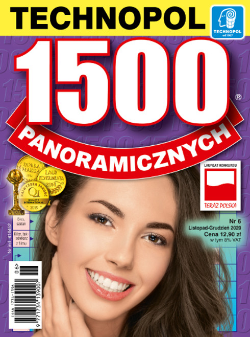 1500 Panoramicznych - 6 month subscription (Price Includes Shipping)