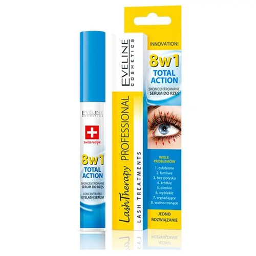 Eveline - Lash Therapy 8 In 1 Concentrated Eyelash Serum