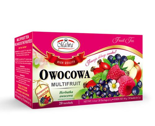 Malwa - Multi Fruit Tea, 20/2g (bags)