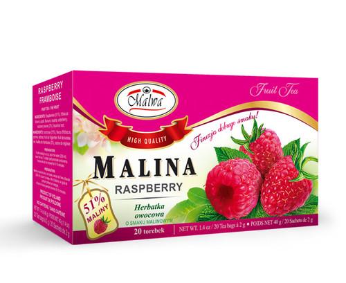 Malwa - Raspberry Fruit Tea, 20/2g (bags)