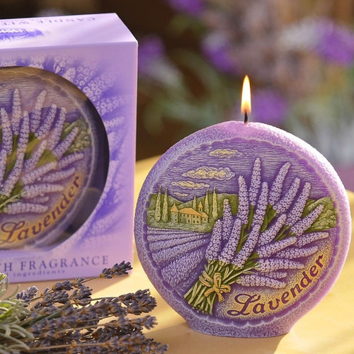 Decorative Candle - Lavender (Scented)