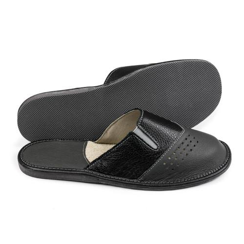 Men's Home Slippers  - (Black)