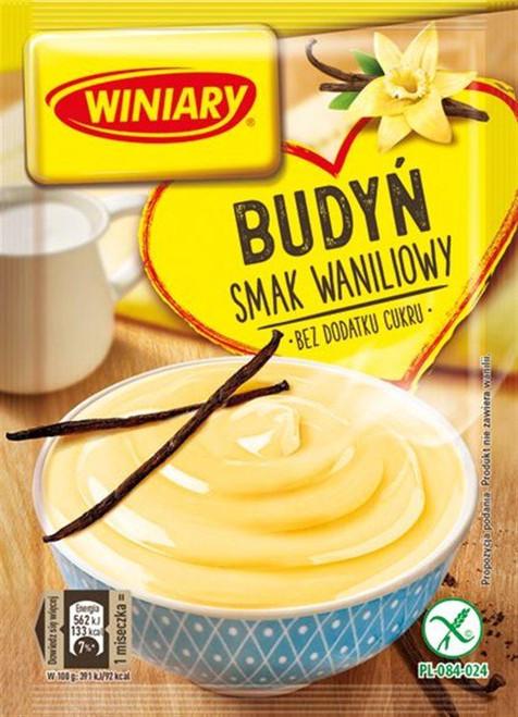 Vanilla Pudding No Sugar Added - Budyn o smaku waniliowym bez cukru 38g - Winiary