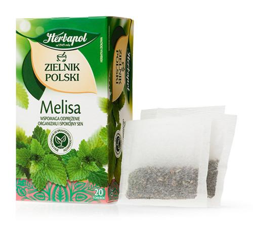 Herbapol - Melissa Tea, 20/2g (bags)