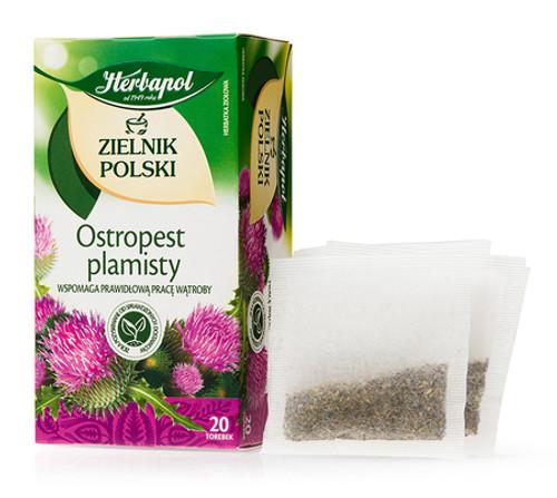 Herbapol - Milk Thistle Tea, 20/2g (bags)