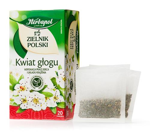 Herbapol - Hawthorne Flower Tea, 20/2g (bags)