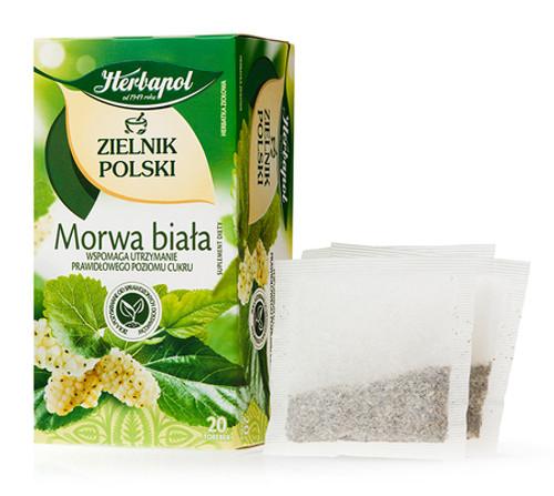 Herbapol - White Mulberry Tea, 20/2g (bags)