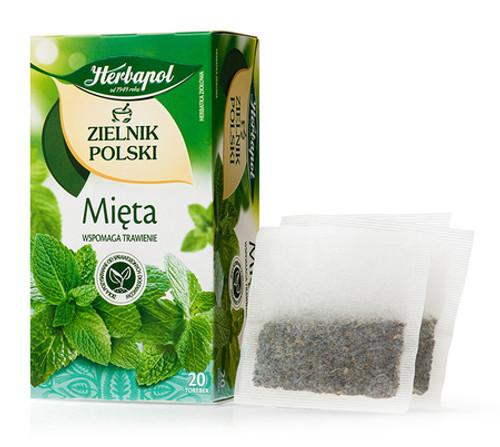 Herbapol - Mint Tea, 20/2g (bags)