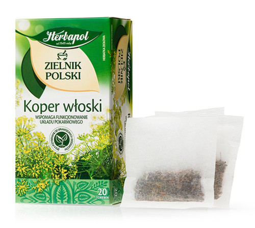 Herbapol - Fennel Tea, 20/2g (bags)