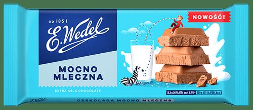 Wedel - Extra Milk Chocolate, 100g