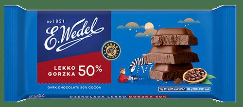 Wedel - Dark Chocolate 50% Cocoa, 100g