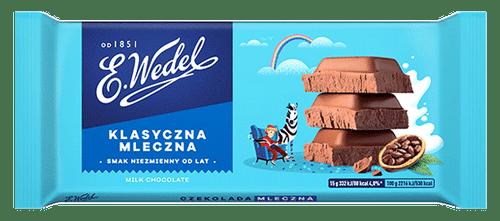 Wedel - Milk Chocolate, 100g