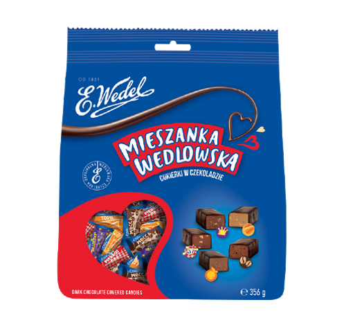 Wedel - Dark Chocolate Candy Mix, 356g