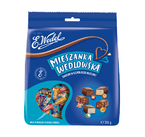 Wedel - Milk Chocolate Candy Mix, 356g