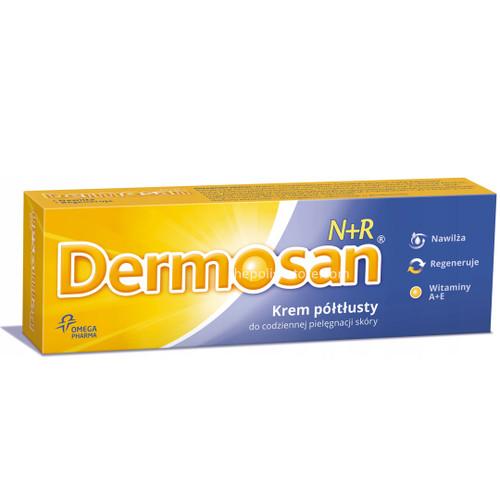 Dermosan Semi-Rich Cream N+R For Face & Body, 40g