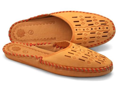Men's Home Slippers  - Close Toe Leather (Zakopane)
