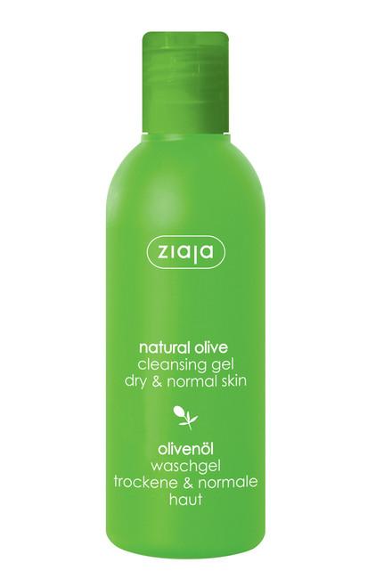 Ziaja - Natural Olive Cleansing Gel, Vegan, 200ml