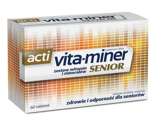 Acti Vita-Miner Senior 60 Tablets