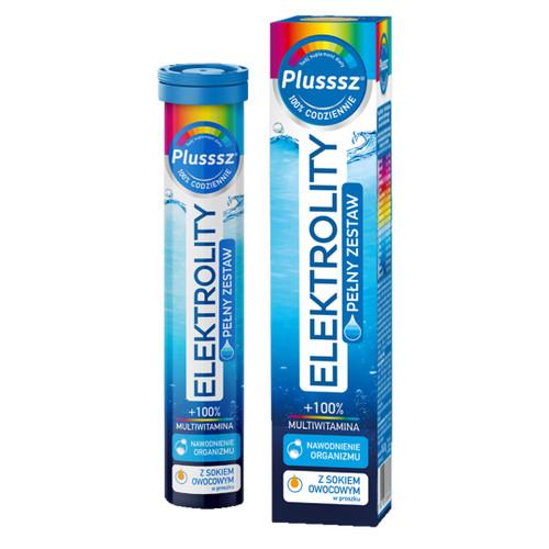 Plusssz Electrolytes + Multivitamin , 24 tablets