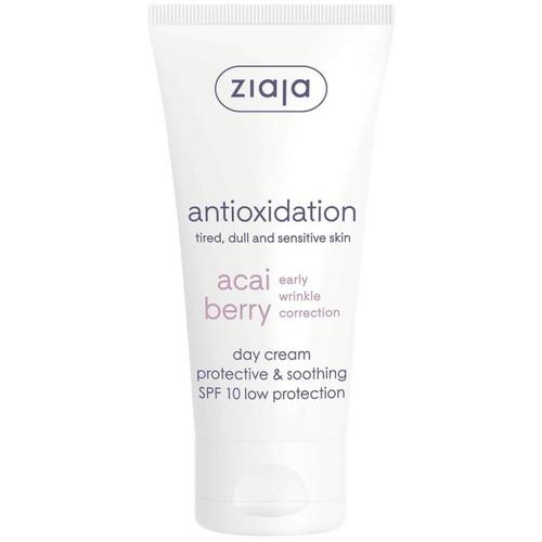 Ziaja - Acai Berry Protective & Soothing Cream SPF 10, Vegan, 50ml