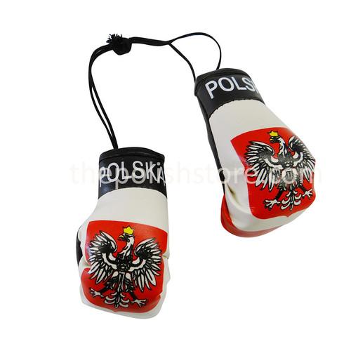 Poland Mini Boxing Gloves