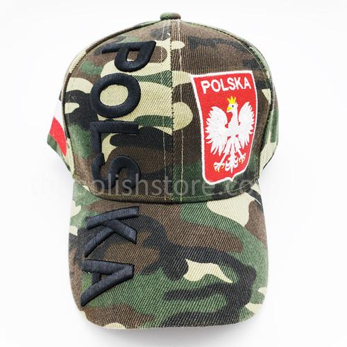 Poland Camo Hat