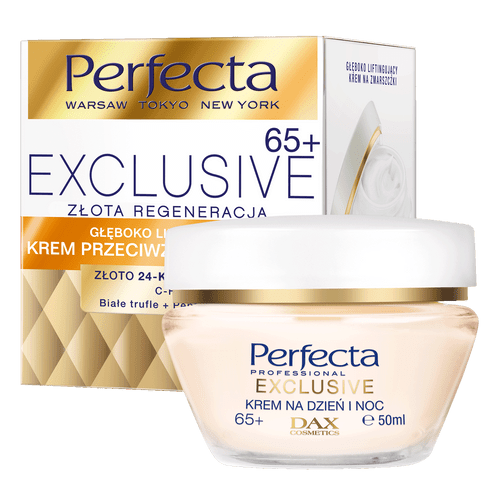 Dax Perfecta - Exclusive 65+ Golden Regeneration Day And Night Face Cream, 50ml