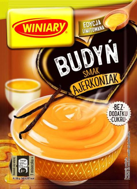 Eggnog Pudding No Sugar Added - Winiary