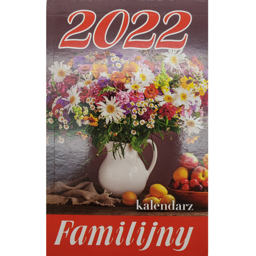 Calendar Family 2022 - (Zdzierak Familijny)