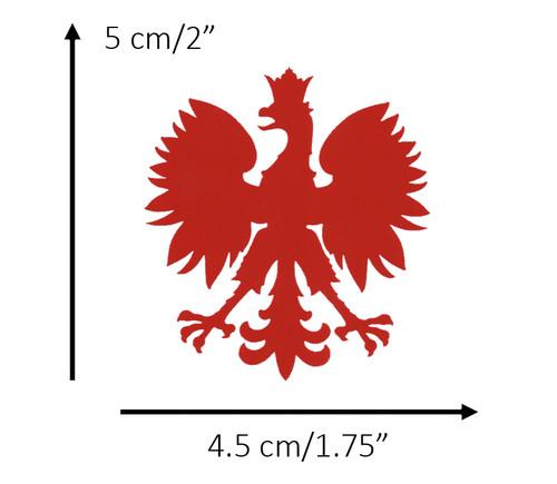 Polish - Red Eagle Decal