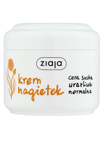 Ziaja - Marigold Face Cream, Vegan, 100ml
