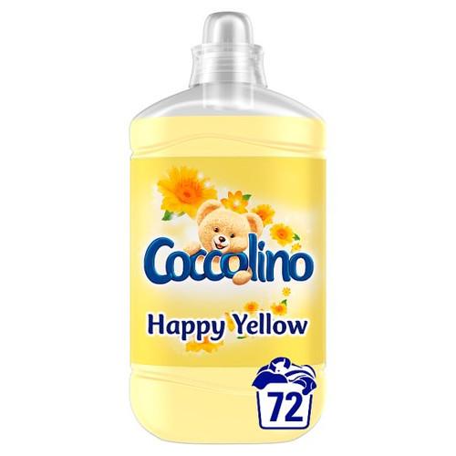 Coccolino - Fabric Softener Happy Yellow, 1.8L