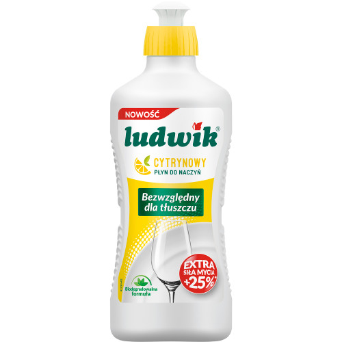 Ludwik - Dish Soap Lemon, 450g