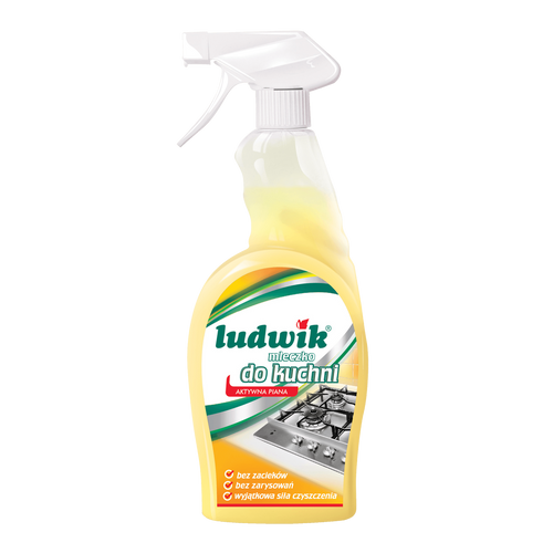 Ludwik - Kitchen Cleaning Milk Active Foam, 750ml
