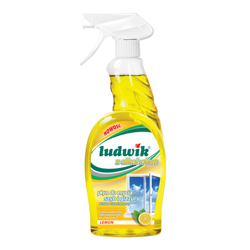 Ludwik - Window & Tile Cleaner With Alcohol Lemon Scent, 750ml