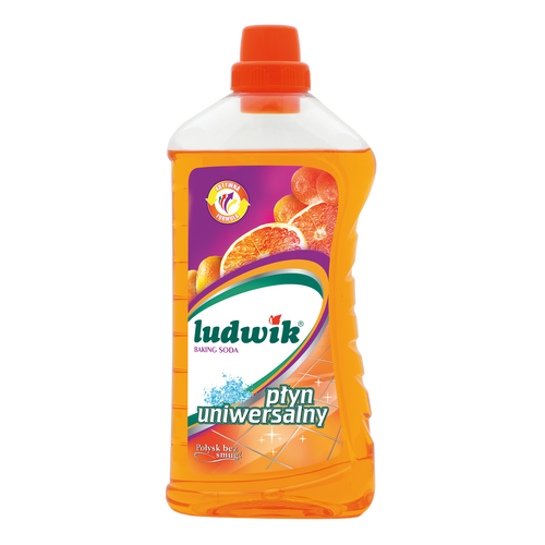 Ludwik - Universal Cleaning Liquid With Baking Soda, 1L