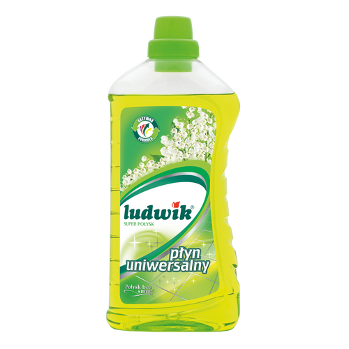 Ludwik - Universal Cleaning Liquid Super Gloss Lilly Of The Valley, 1L