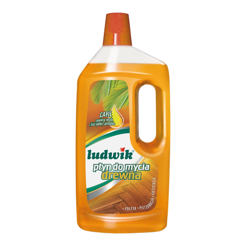 Ludwik - Universal Cleaning For Hardwood Citrus Scent With Carnauba, 1L