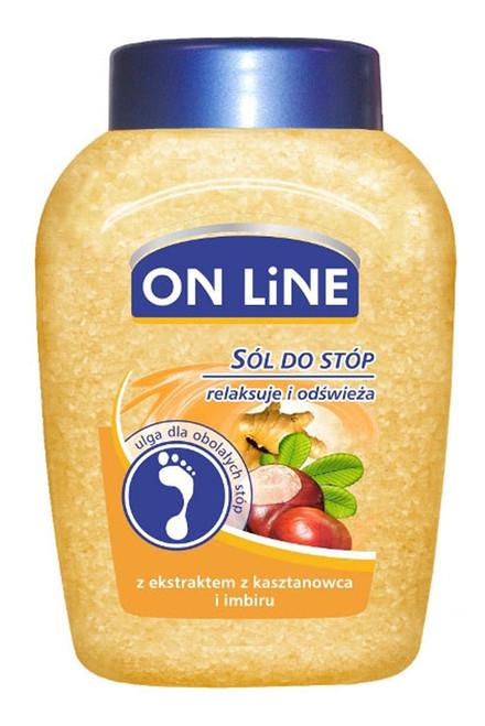 Online - Foot Salt Chestnut & Ginger, 750ml