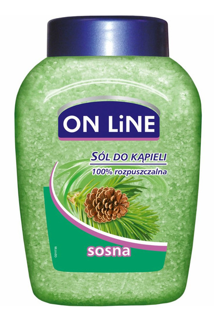 Online - Bath Salt Pine, 800g