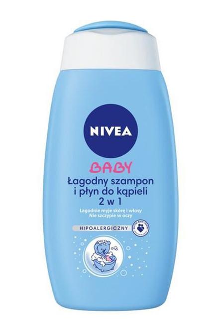 Nivea - Baby (2 In 1) Soft Shampoo And Bubble Bath, 500ml