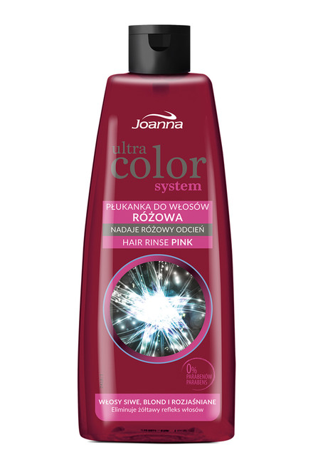 Joanna - Ultra Color System Hair Rinse (Pink), 150ml