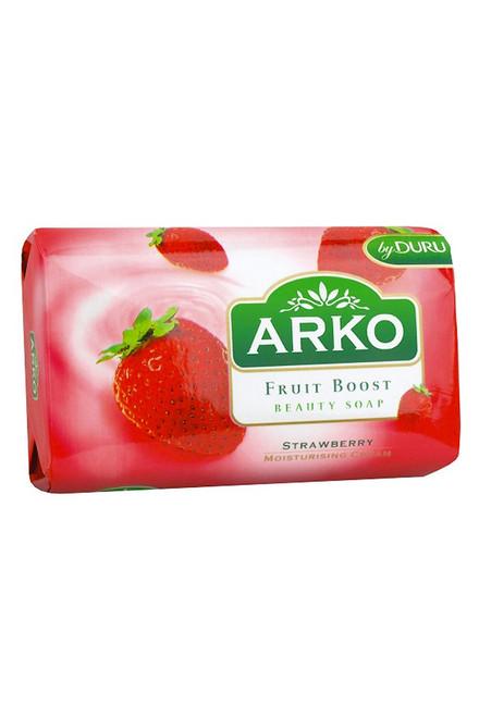 Arko - Fruit Boost Strawberry Beauty Soap, 90g