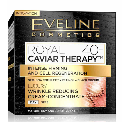 Eveline - Royal Caviar Therapy Wrinkle Reducing Day Cream Concentrate (40+), 50ml