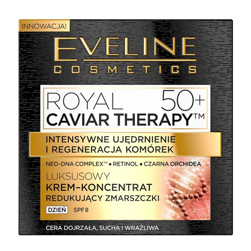 Eveline - Royal Caviar Therapy Rejuvenating Day Cream-Concentrate (50+), 50ml