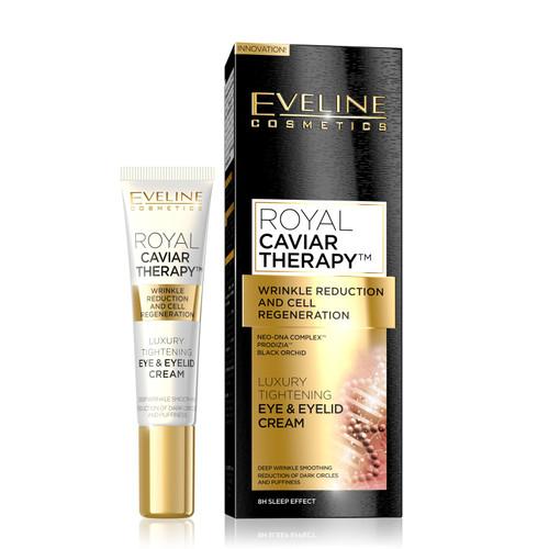 Eveline - Royal Caviar Therapy Tightening Eye & Eyelid Cream, 15ml