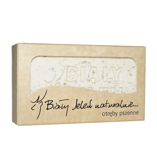 Bialy Jelen - Natural Soap With Wheat Bran, 100g