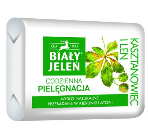 Bialy Jelen - Bar Soap Chestnut Extract, 100g